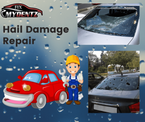 Hail Damage Repair image